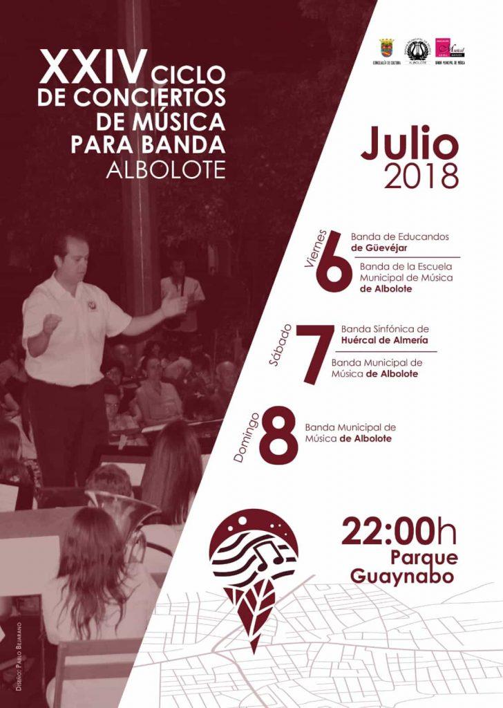 XXIV Ciclo de Conciertos de Música para Banda - Albolote