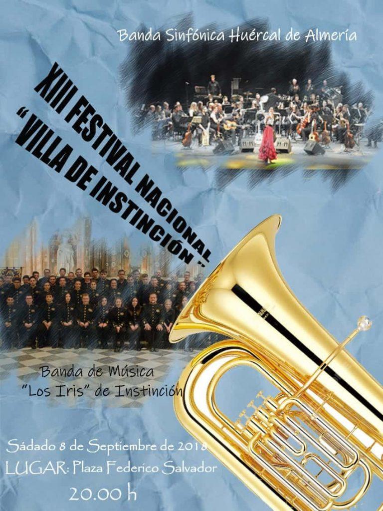 XIII Festival de Bandas de Música 2018. Instinción