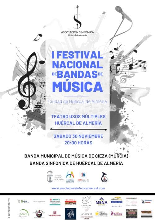 "I Festival Nacional de Bandas de Música ""Ciudad de Huércal de Almería"""