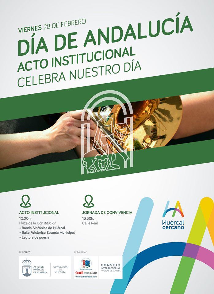 Día Andalucía en Huércal de Almería