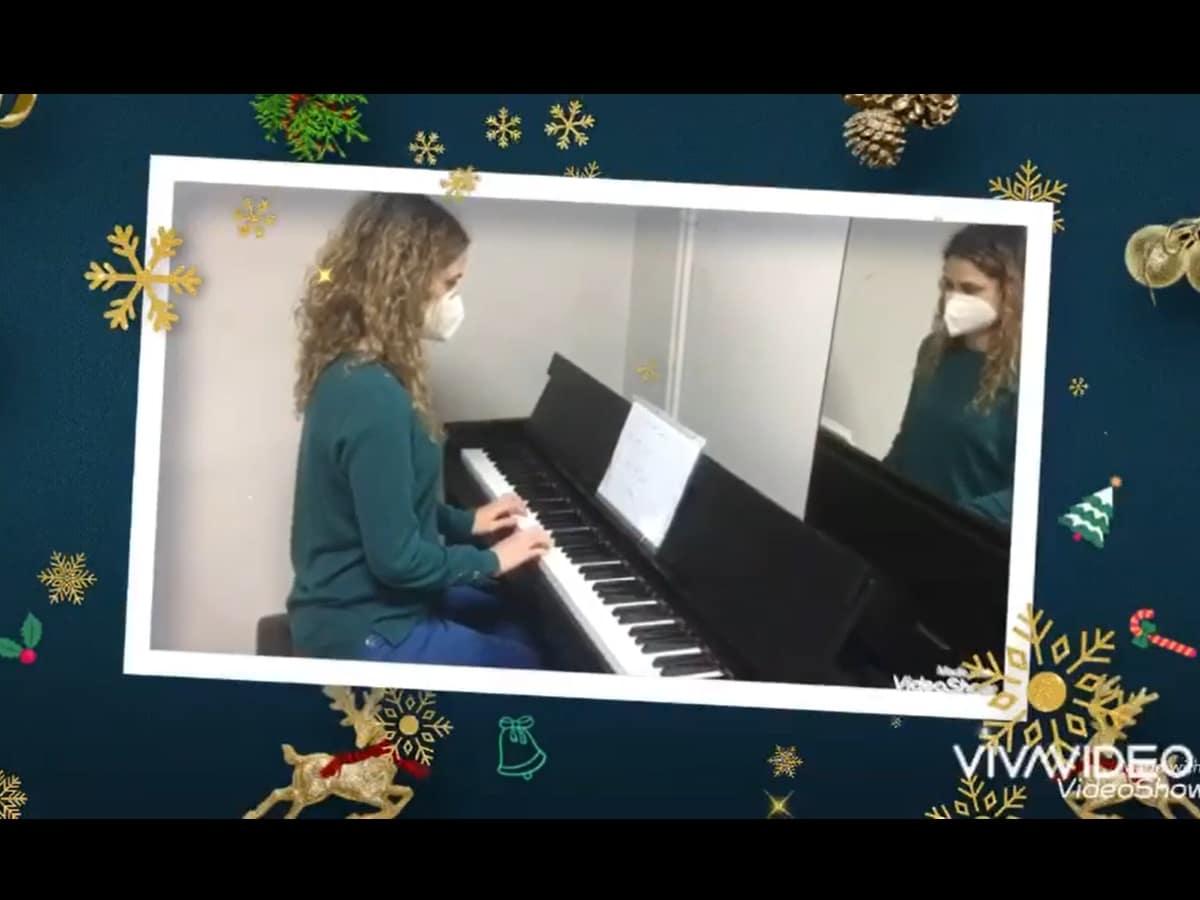Audición Virtual de Navidad 2020. Clarinete y Piano.