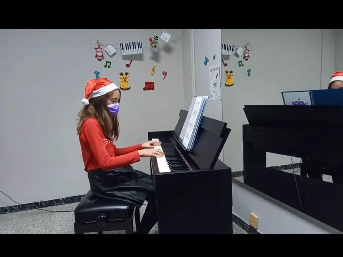 Audición Virtual de Navidad 2020. Piano.