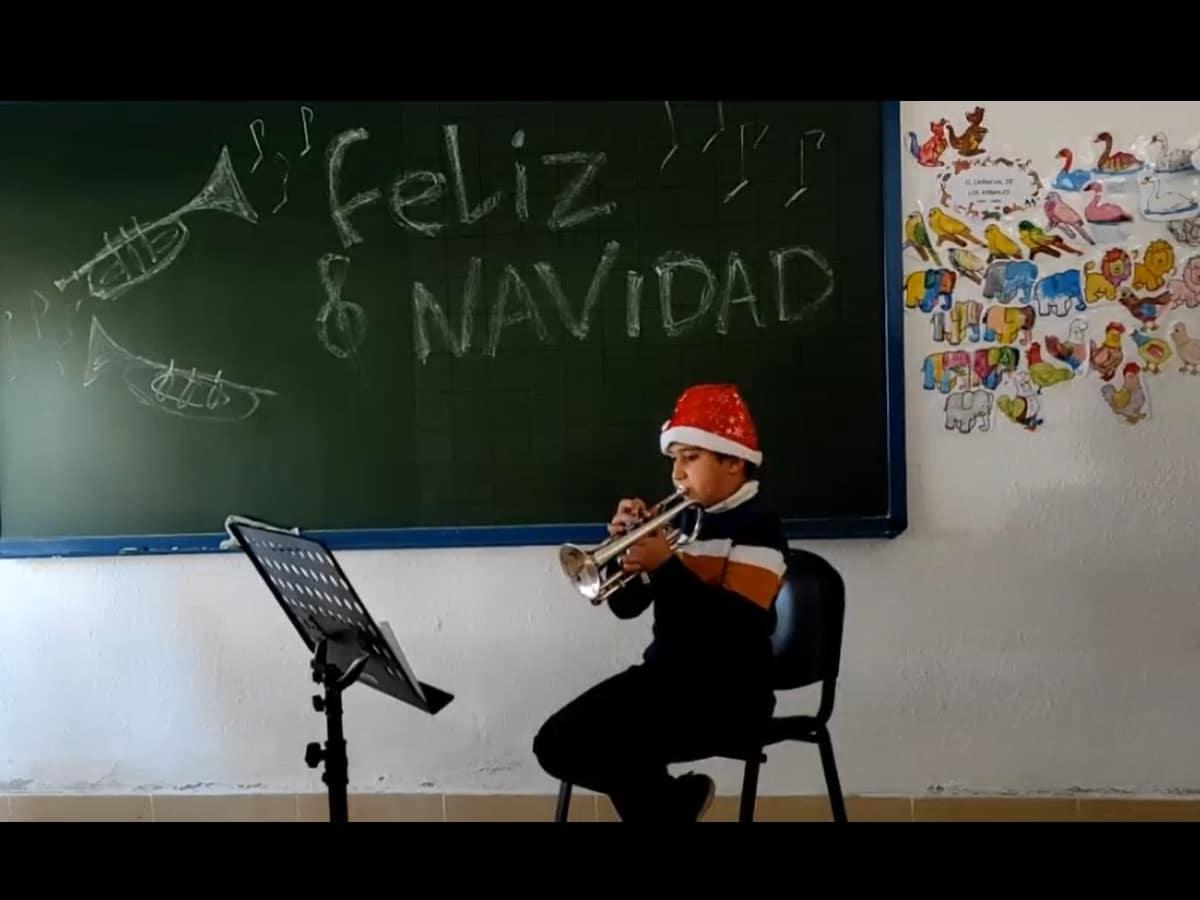 Audición Virtual de Navidad 2020. Trompeta.