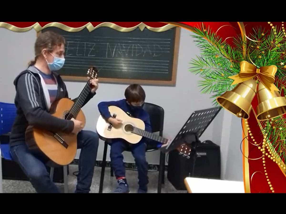 Audición Virtual de Navidad 2020. Guitarra.