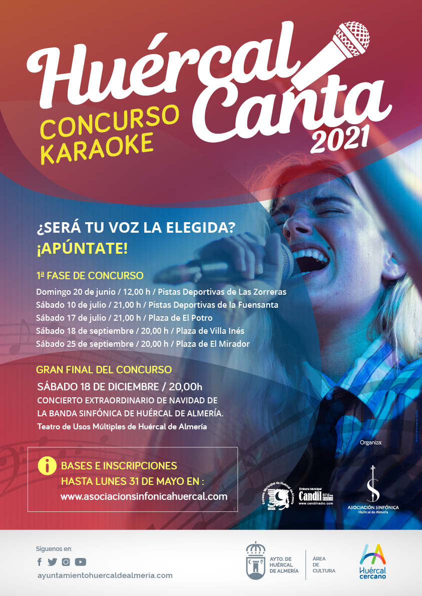 """""""Huércal Canta"""" Concurso"""